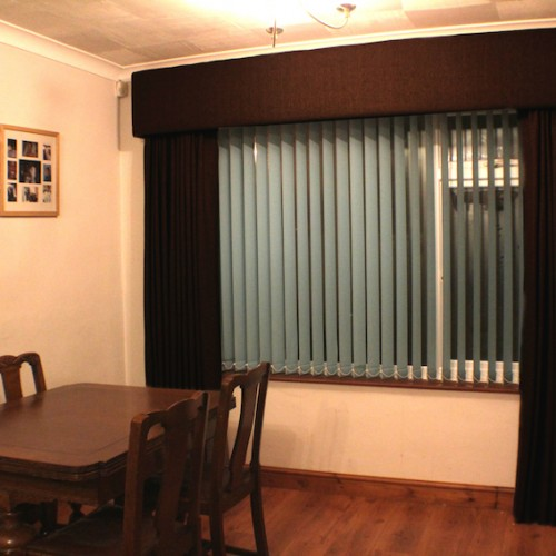 Curtain Pelmet Board Order